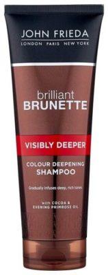 John Frieda шампунь Brilliant Brunette Visibly Deeper для усиления насыщенности оттенка темных волос