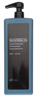 Kaaral шампунь Manniscan Black Toning черный тонирующий