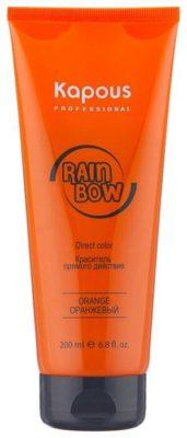 Краситель прямого действия Kapous Professional Rainbow для волос Оранжевый