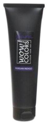 Крем Fara WOW! Colors смываемый оттеночный, тон Persian Indigo (чернильный)