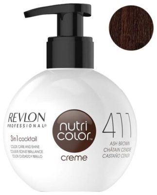 Крем Revlon Professional Nutri Color 3 in 1 cocktail 411 Ash Brown