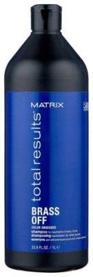 Matrix шампунь для волос Total Results Color Obsessed Brass Off