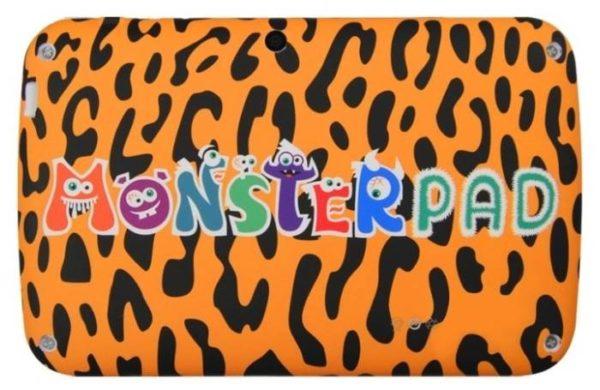 MonsterPad Зебра/леопард