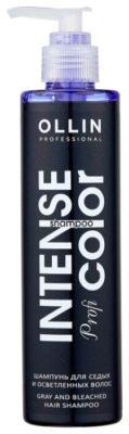OLLIN Professional шампунь Intense Profi Color для волос седых и осветленных