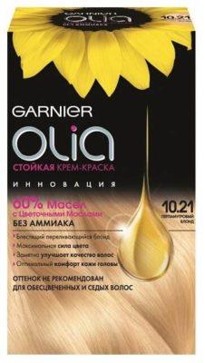 Olia стойкая крем-краска для волос