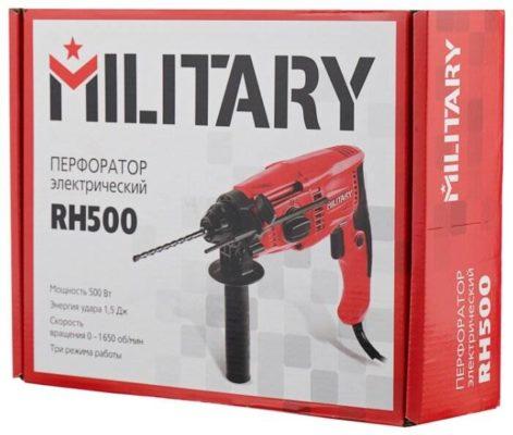Перфоратор MILITARY RH500, 500 Вт