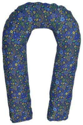 Подушка Body Pillow для беременных U холлофайбер, с наволочкой из хлопка