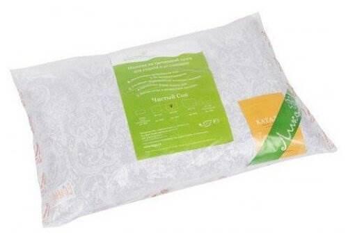 Подушка Лика ортопедическая Чистый Сон, Л058 50 х 70 см