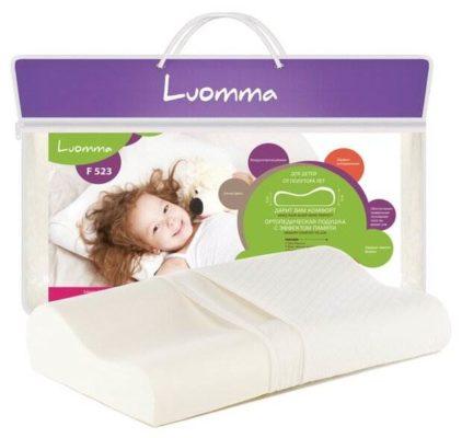 Подушка Luomma ортопедическая LumF-523 25 х 45 см