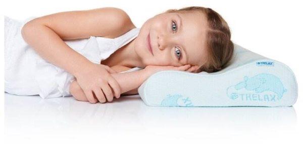 Подушка TRELAX ортопедическая для детей Respecta Baby П35 27 х 44 см