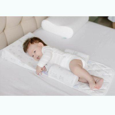 Подушка-позиционер для новорожденных, ФАБРИКА ОБЛАКОВ, 34х29х7см