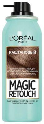 Спрей L'Oreal Paris Magic Retouch для мгновенного закрашивания отросших корней волос