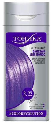 Тоника Colorevolution Оттеночный бальзам для волос 3.22 неоновый фиолетовый