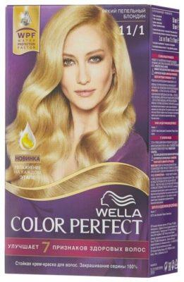 Wella Color Perfect Стойкая крем-краска для волос