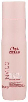 Wella Professionals шампунь Invigo Blonde Recharge для холодных светлых оттенков