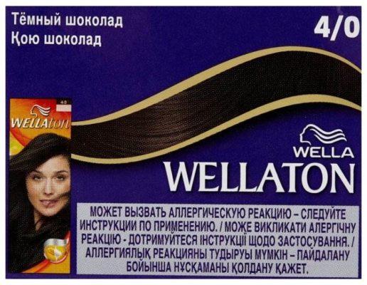 Wellaton стойкая крем-краска для волос