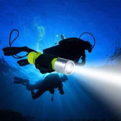 10 лучших подводных фонарей для охоты и дайвинга