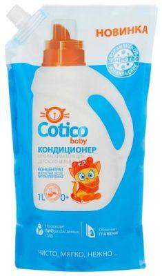 Cotico Кондиционер-ополаскиватель для детского белья Baby