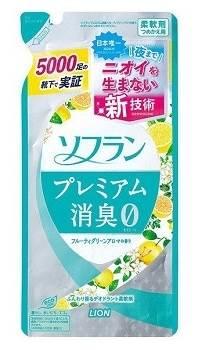 Lion Кондиционер для белья Aroma Natural с натуральным фруктовым ароматом