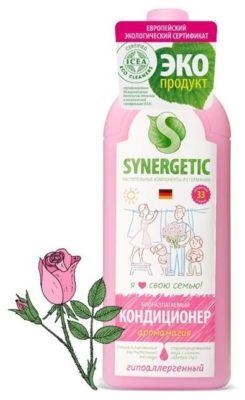 Synergetic Концентрированный кондиционер для белья Аромамагия