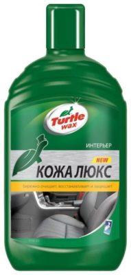 Turtle WAX Очиститель и кондиционер кожи салона автомобиля Lux Leather (Кожа Люкс), 0.5 л