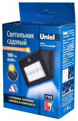 Uniel Уличный светильник на солнечной батарее Usl-f-163-pt120
