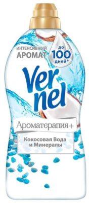 Vernel Концентрированный кондиционер для белья Ароматерапия+ Кокосовая вода и минералы