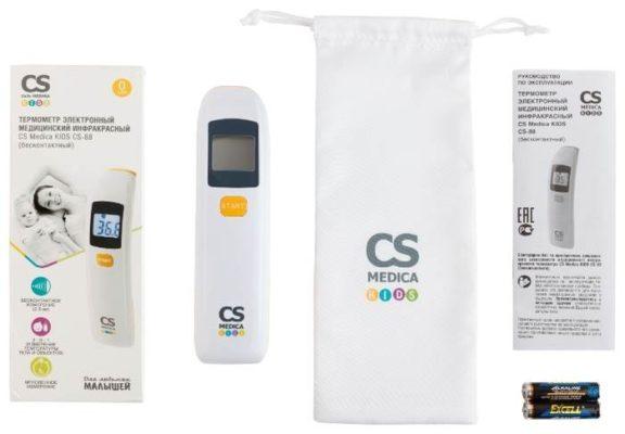Инфракрасный термометр CS Medica KIDS CS-88 белый