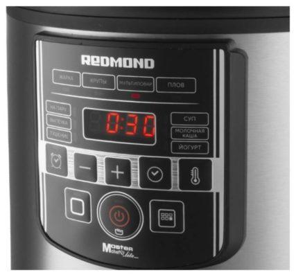 REDMOND RMC-M38, сталь/черный