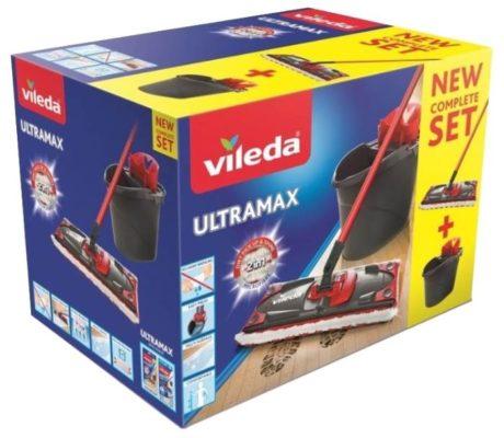 "Vileda ""Ultramax"" 8137431, черный/красный"