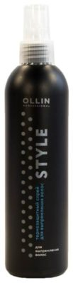 OLLIN Professional Термозащитный спрей для выпрямления волос, 250 мл