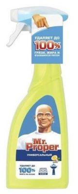 Универсальный чистящий спрей Лимон Mr. Proper, 500 мл