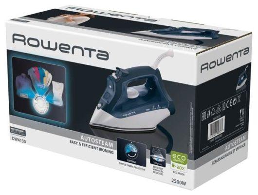 Rowenta DW4130D1 серый/белый