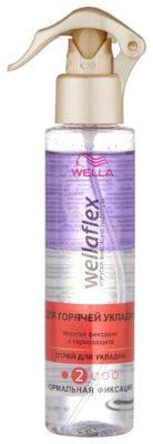 Wella Спрей для горячей укладки Wellaflex Упругая фиксация и термозащита, средняя фиксация, 150 мл