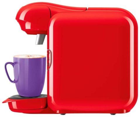 Bosch TAS 1401/1402/1403/1404/1407 Tassimo, красный