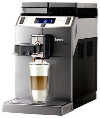 Saeco Lirika One Touch Cappuccino, серебристый