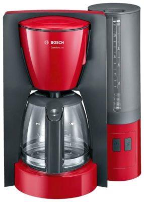 Bosch TKA 6A044, красный/антрацит
