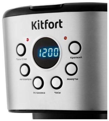 Kitfort КТ-728, серебристый/черный