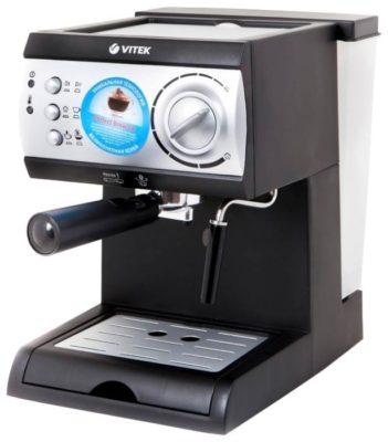 VITEK VT-1511, черный/серебристый