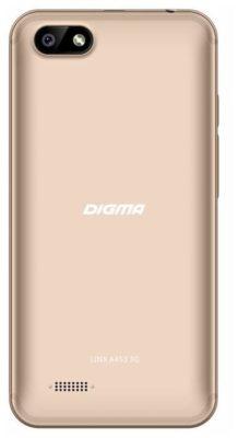 DIGMA LINX A453 3G, золотистый