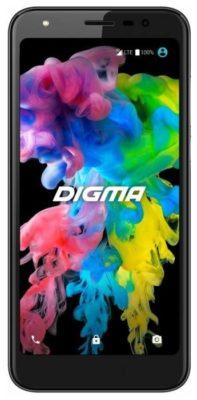DIGMA LINX TRIX 4G, черный