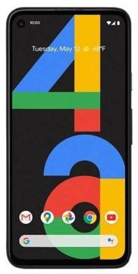 Google Pixel 4a, черный