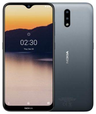 Nokia 2.3 32GB Dual Sim, угольный