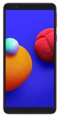 Samsung Galaxy A01 Core 16GB, красный