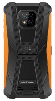 Ulefone Armor 8, оранжевый
