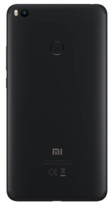 Xiaomi Mi Max 2 64GB, черный