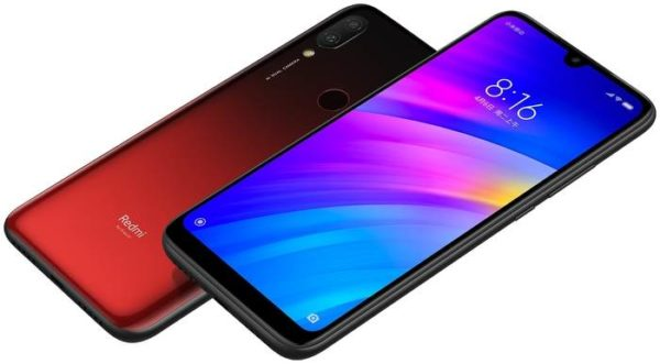 Xiaomi Redmi 7 4/64GB, красный