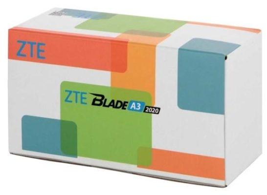 ZTE Blade A3 2020 NFC, темно-серый