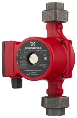 Grundfos UPS 25-40 180 (45 Вт)
