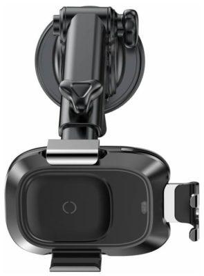 Baseus Smart Vehicle Bracket Wireless Charger (WXZN-B01) черный